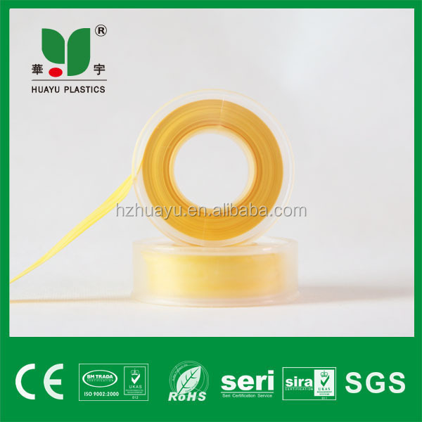 12mm most demanded products yellow ptfe tape importer in india with silicone adhesive