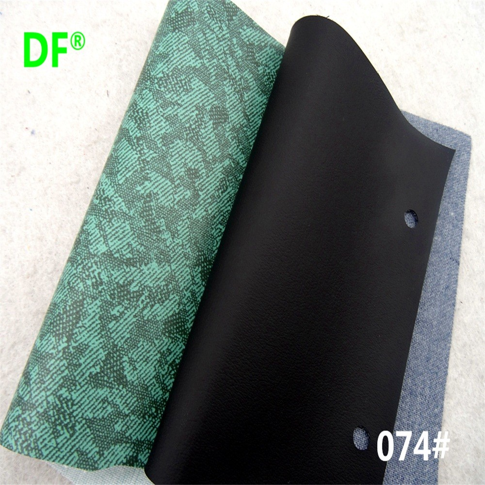 074# Hot Sale Embossed Pattern 54'' Release Paper Technic PVC Synthetic Leather