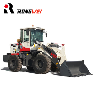 rongwei brand small shove wheel loader front end loader with ce certification for sale
