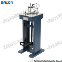 Manual foot-pedal picture frame assembling machine