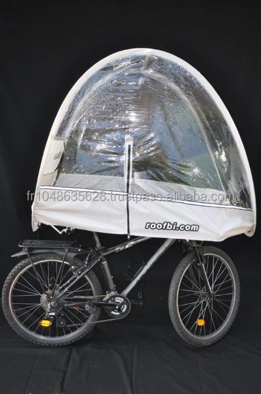Bicycle umbrella for mountain bike