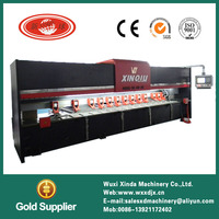 high quality copper plate v groove machine
