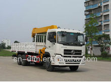 Low oil consumption Dongfeng Vehicle-mounted Crane/DFL1250A9/Cummins engine