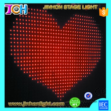 High definition P5 SMD 5050 LED curtain mesh video panel for show