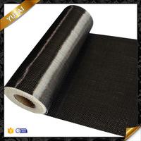 Undirectional 3k 12k carbon fiber fabric leather textiles carbon fiber price