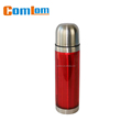 CL1C-C050E comlom 500ml double wall stainless steel vacuum flask with plastic body