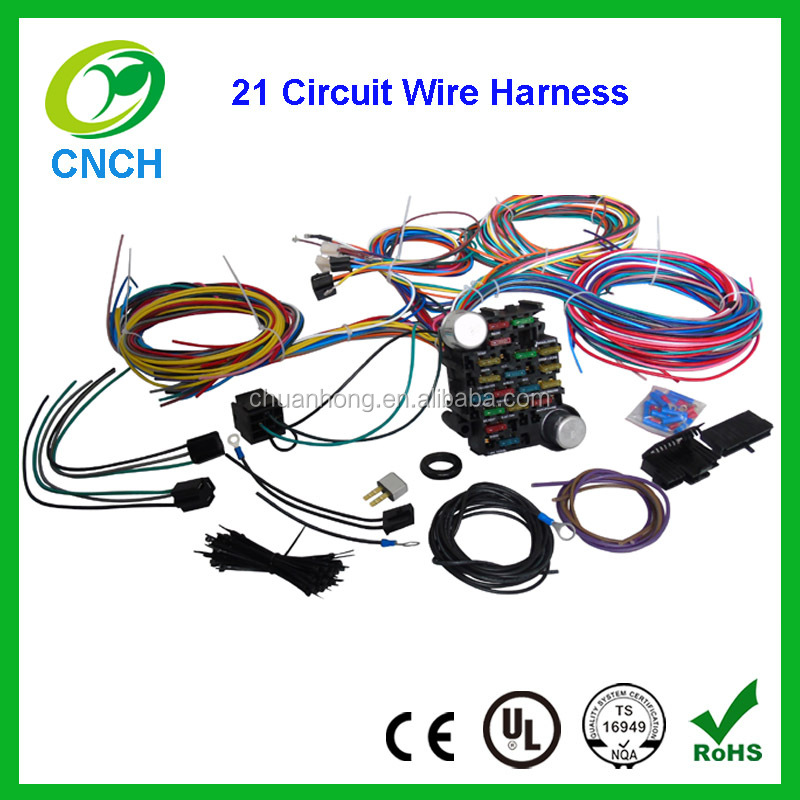 list manufacturers of fuse box wiring harness buy fuse box wiring 21 circuit fuse box universal wire harness for chevy trucks hot rods muscle car