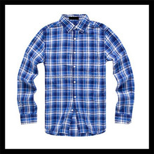 hot new retail products long sleeve women casual check shirt design