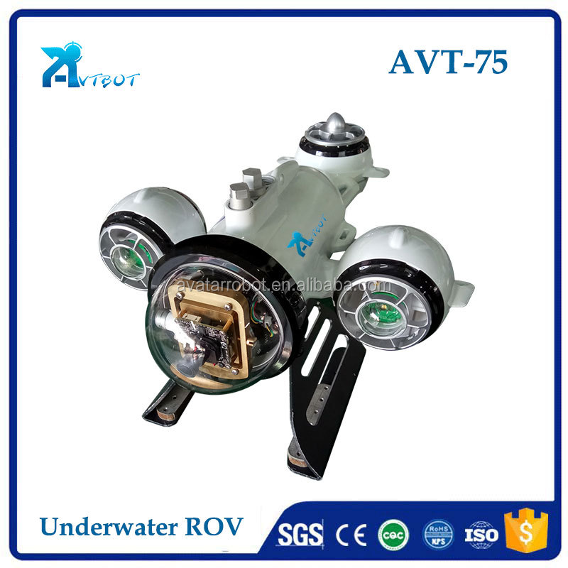 Pan and Tilt ROV Underwater Robot remotely operated vehicle