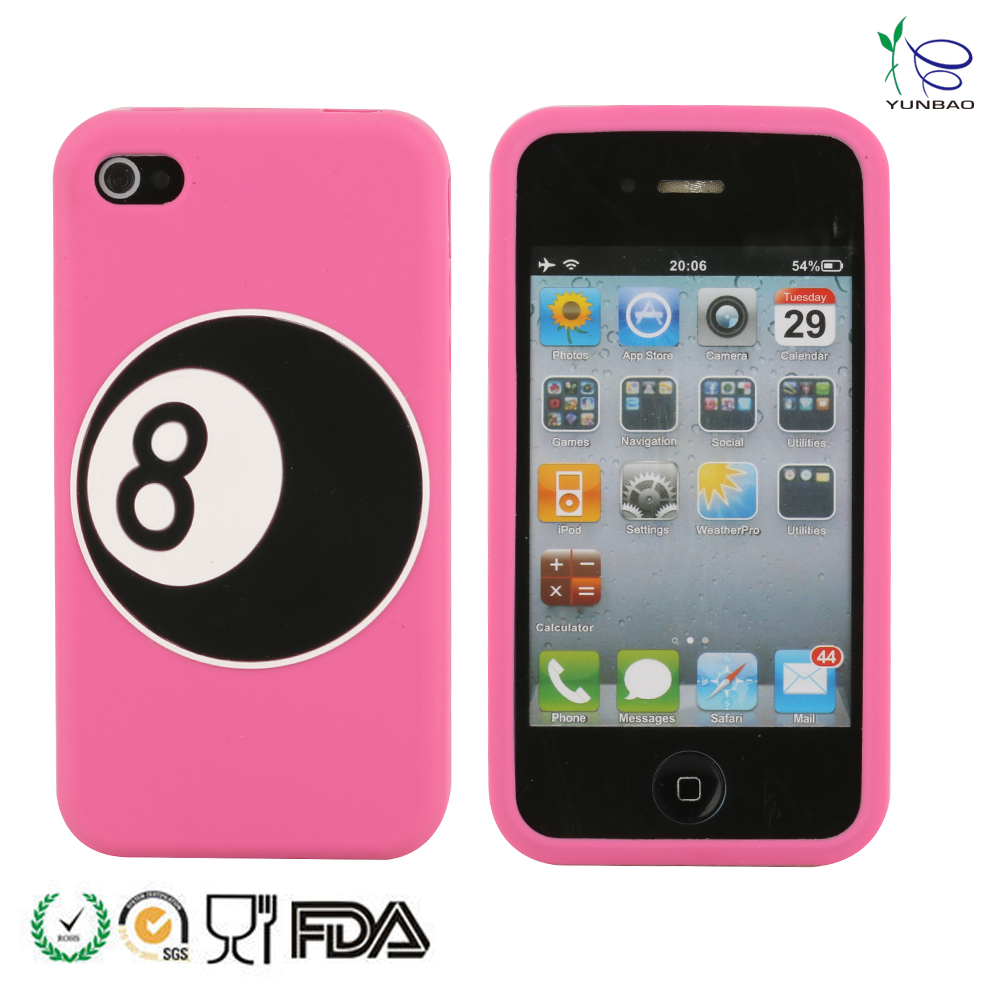 Silicone cell phone case cartoon ball cell phone case cover for Samsung,mobile phone shell