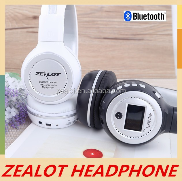 HiFi wired wireless Headphone with wireless net chat monitor X5