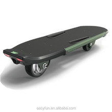 Yiiboard new technical two wheels hub motor skateboard led light remote control electric longboard 400w