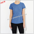 Wholesale custom women dri fit t shirt sports fitness tank top