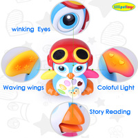 Early learning intelligent baby story teller dancing toys