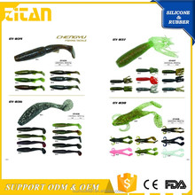 Soft Plastic Artificial salmon lures