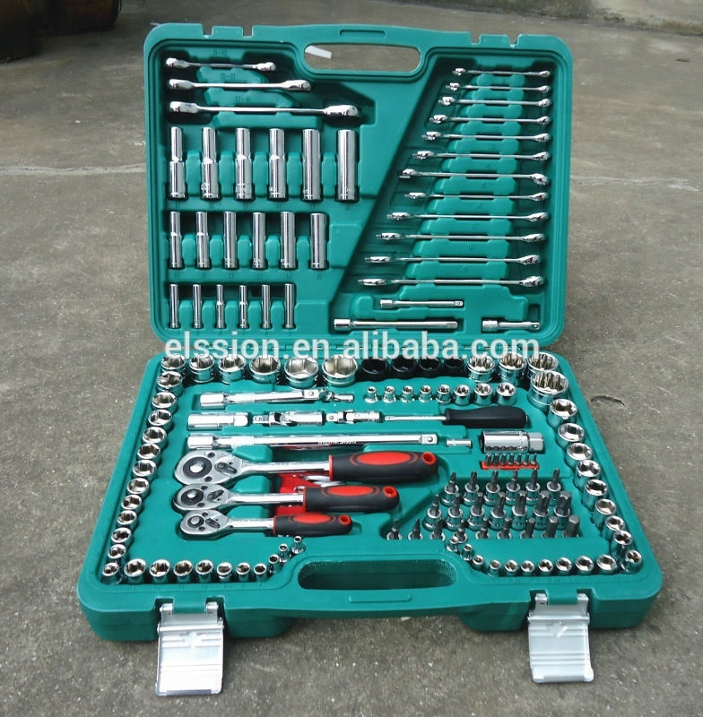 150 pcs Combination Socket wrench tools <strong>kit</strong> for Cars repair