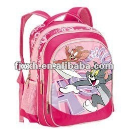 tom and jerry school backpack bag for kids