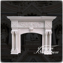 New design moulding decorative fireplace