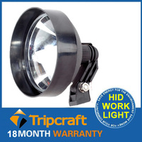 Famous tripcraft 35W hunting searchlights portable xenon hid search light rechargeable outdoor HID searchlight 9v-36v