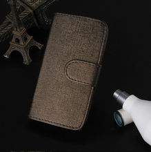 Different design and colors of leather case for Samsung galaxy fit s5670
