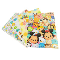 Factory produce custom printing colorful promotional gift translucent A4 size soft plastic file folder sheets