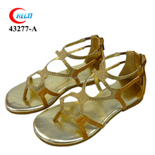 newest 2016 girl new style pu sandal shoes