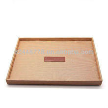 hotel amenities tray PU leather