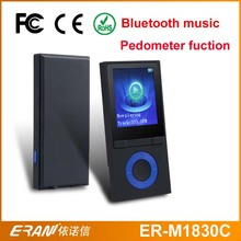 "1.8""TFT Hot videos free download pedometer digital mp4 player with bluetooth music"
