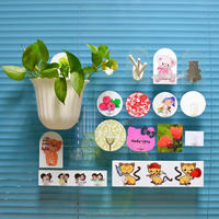 Wholesale Kitchen Accessory Plastic Snap Coat Hooks