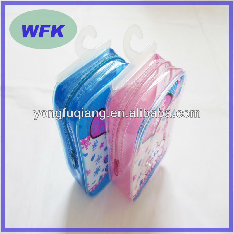 soft mesh plastic pvc zipper blanket bag