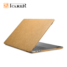 Acceptable Custom Eco-Friendly Accessories Hard Laptop Leather Case Cover For Macbook Pro 13 Inch 15 Inch For Apple Mac Case