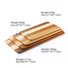 Wooden/Bamboo Cutting Board/Wood Chopping Block 4 Sizes