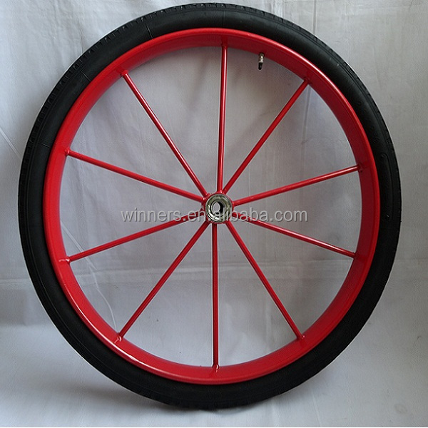 "26""x 2.5"" sulky cart horse carriage <strong>wheel</strong>"