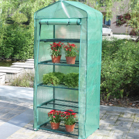 SMALL HOME ALUMINUM GREENHOUSE GARDEN FOR FLOWER