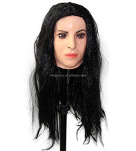 New Sexy Female Realistic Mask Rubber Living Doll Latex Transexual Mask