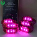 2018 Pop Novelty Ornaments Promotional Gifts Led Glowing Wristband With Event Party