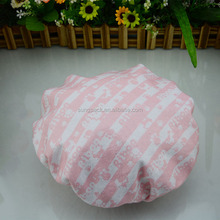 "21"" Extra Large Buffant Shower Caps for Comfortable Pink Terry Shower Caps in Double Layered Shower Bath Cap"