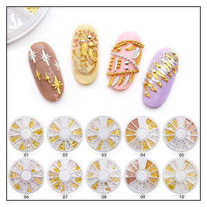 Fluorescent Luminous Nail Art Sequins Heart Star Round Ultra-thin Nail Glitter Flakes Powder Glow in the Dark