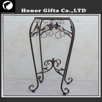 Flower Basket Stand Ornamental Iron Flower Stands
