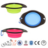 Best Selling Foldable Silicone Collapsible Dog Travel Bowl, Pet Bowl