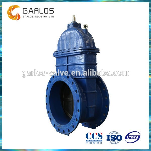 4 inch manual non rising stem gate valve
