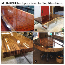 Epoxy Resin and Hardener for Wood Table Topcoat