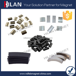 China neodymium magnets supplier Rare Earth Metal NdFeB Arc Magnet