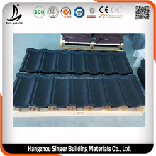 ShingleType Colorful Lightweight Cheap Factory Price Stone Coated Steel Roofing Tile