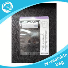 small reclosable resealable zip lock bags