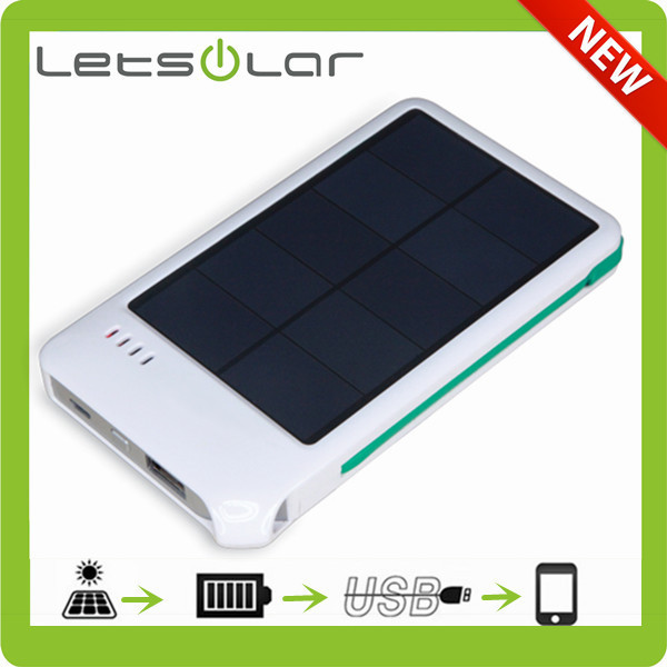 For smartphone solar charger bag for mobile