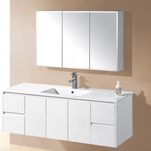 wholesale price china factory lacquer bathroom cabinet