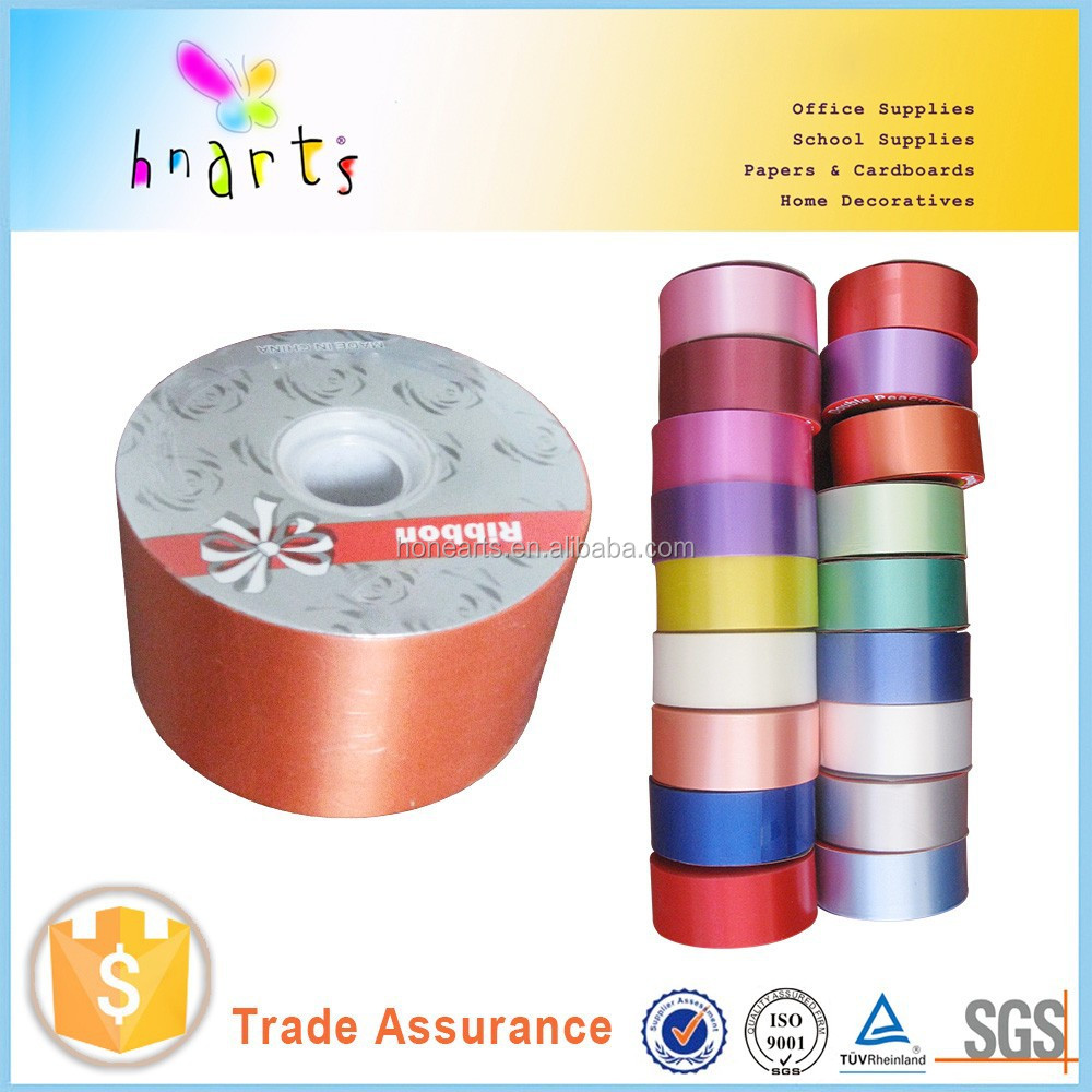 orange plastic ribbon for gift wrapping manufactur