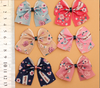 Ribbon flowers clothing accessories children 's hair ornaments bow flowers