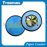 Fashion and highest quanlity tissue paper coaster factory direct custom China manufacturer